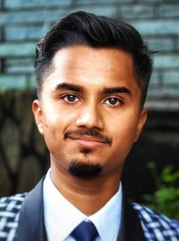 Kousik Dutta - first runner up UI